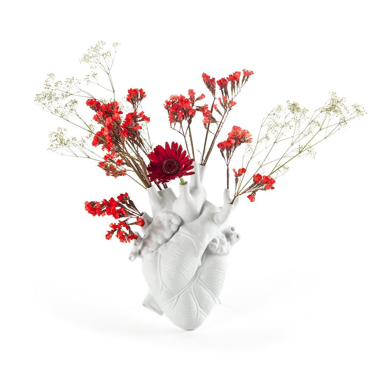 Love in Bloom - White Vase, [Molecule Design]