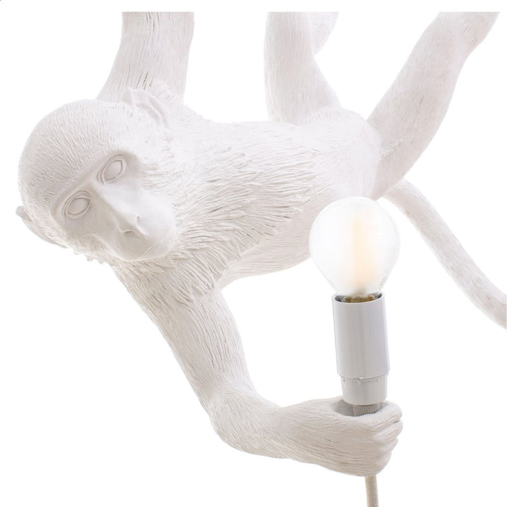 The Monkey Lamp Swing White - Molecule Design-Online