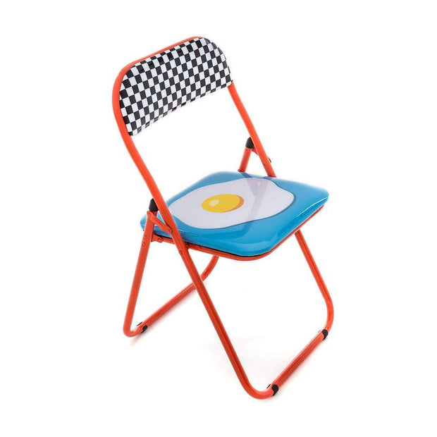 Blow - Egg Folding Chair, [Molecule Design]