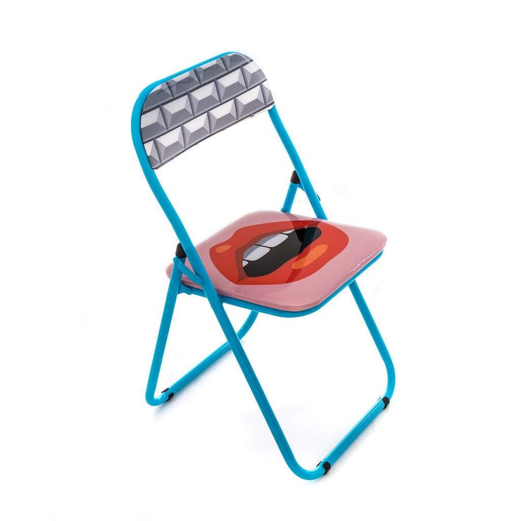 Blow - Mouth Folding Chair - Molecule Design-Online