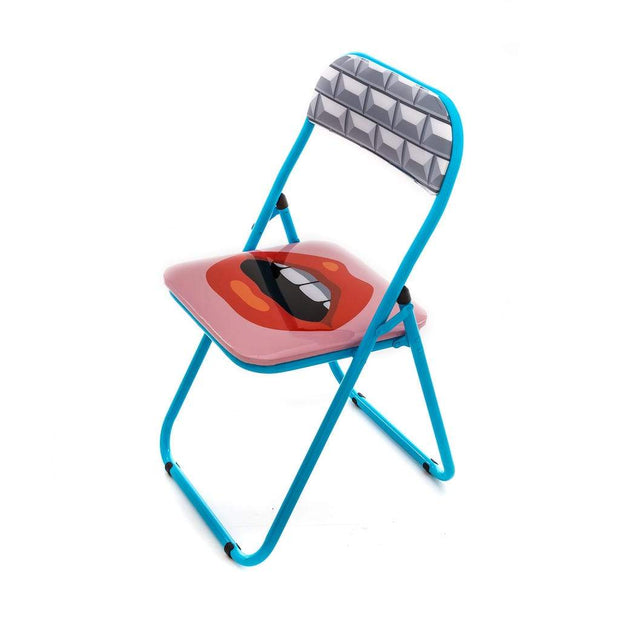 Blow - Mouth Folding Chair, [Molecule Design]