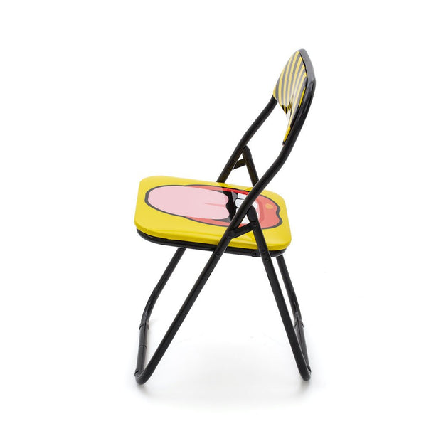 Blow - Tongue Folding Chair, [Molecule Design]