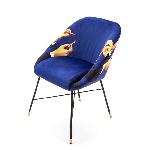 Toiletpaper - Lipstick Padded Chair, [Molecule Design]