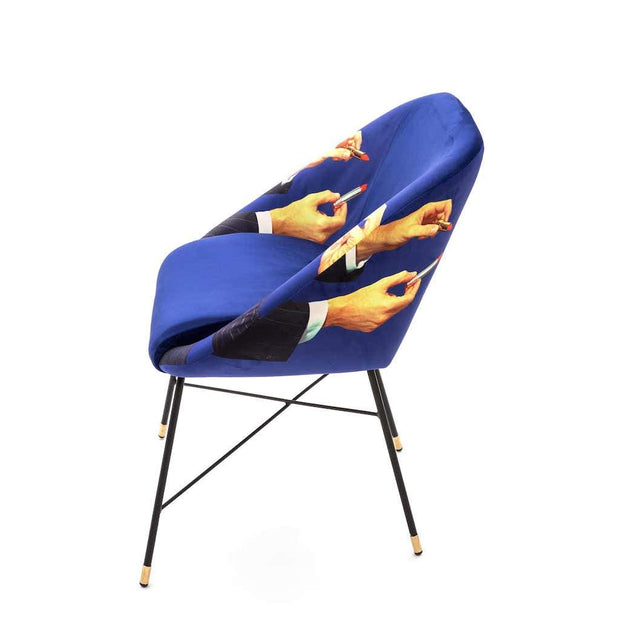 Toiletpaper - Lipstick Padded Chair - Molecule Design-Online
