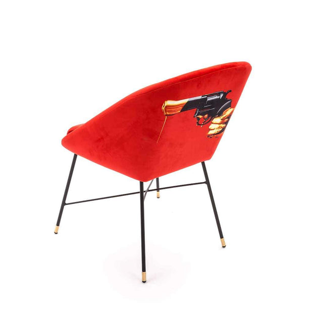 Toiletpaper - Revolver Padded Chair - Molecule Design-Online