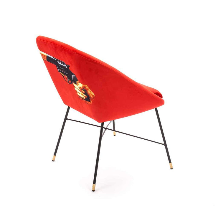 Toiletpaper - Revolver Padded Chair, [Molecule Design]
