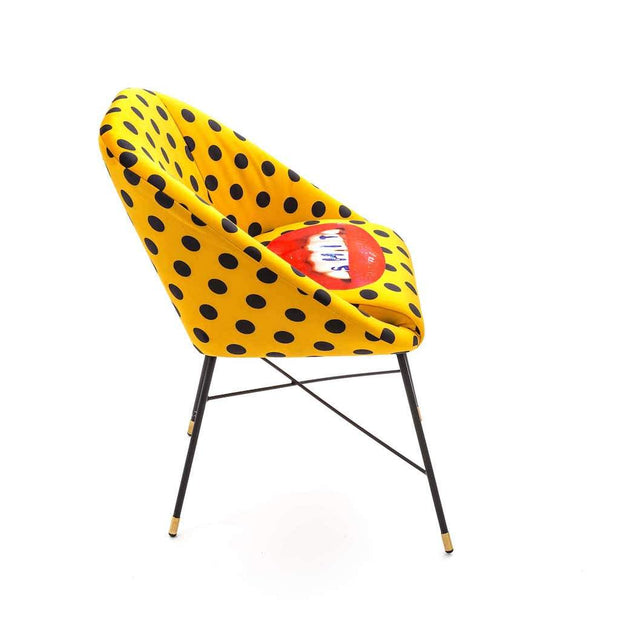 Toiletpaper - Shit Padded Chair, [Molecule Design]