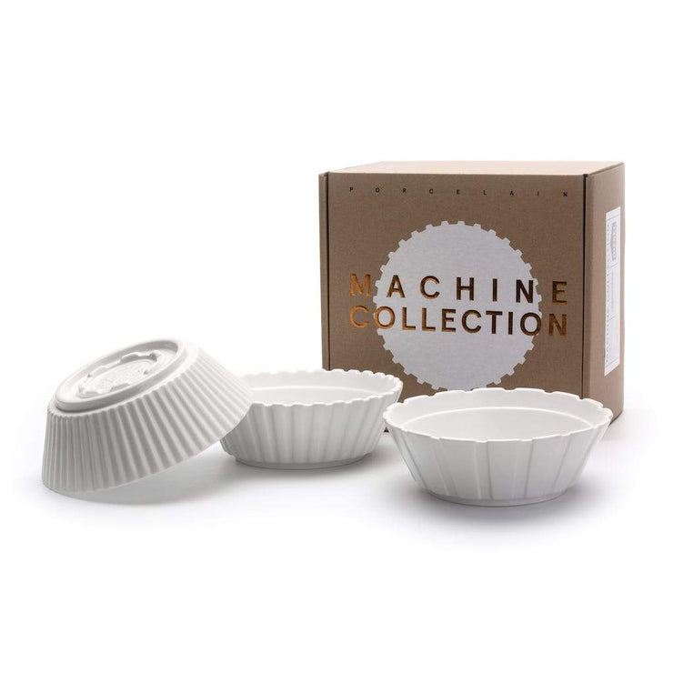 Machine Collection -  Salad Bowl Set - Molecule Design-Online