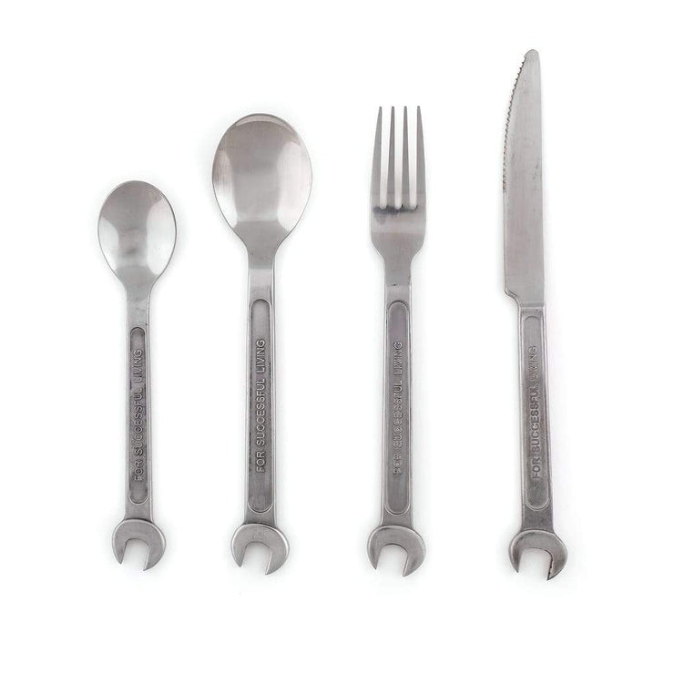 Machine Collection -  Cutlery Set of 4 Pieces - Molecule Design-Online