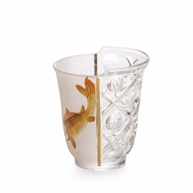 Hybrid Aglaura Drinking Glasses (set of 3) - Molecule Design-Online