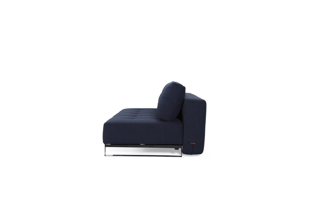 Supremax Deluxe Excess Lounger / Chrome (Queen)