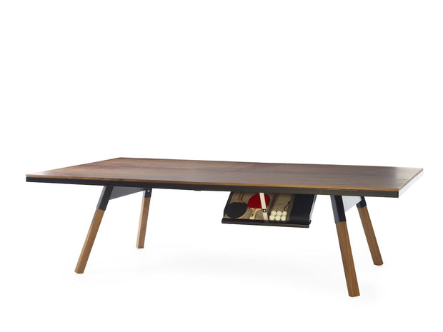You and Me - Standard Ping-Pong or Dining Table-Games Tables-Molecule Design . Online_Santa_Fe