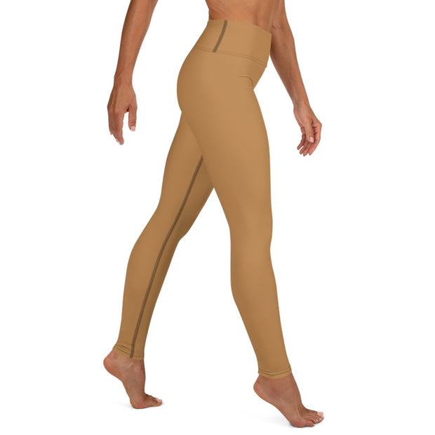Nude Yoga Leggings - Molecule Design-Online