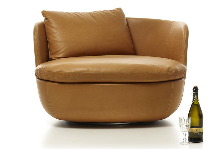 Bart Swivel Chair, [Molecule Design]