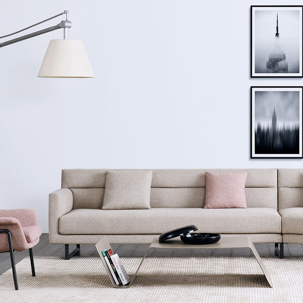 "Amor Sofa 72"" Left or Right Arm, [Molecule Design]"