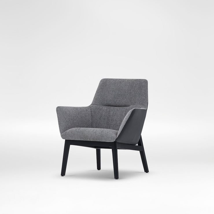 Qing Chair - Low Back, [Molecule Design]