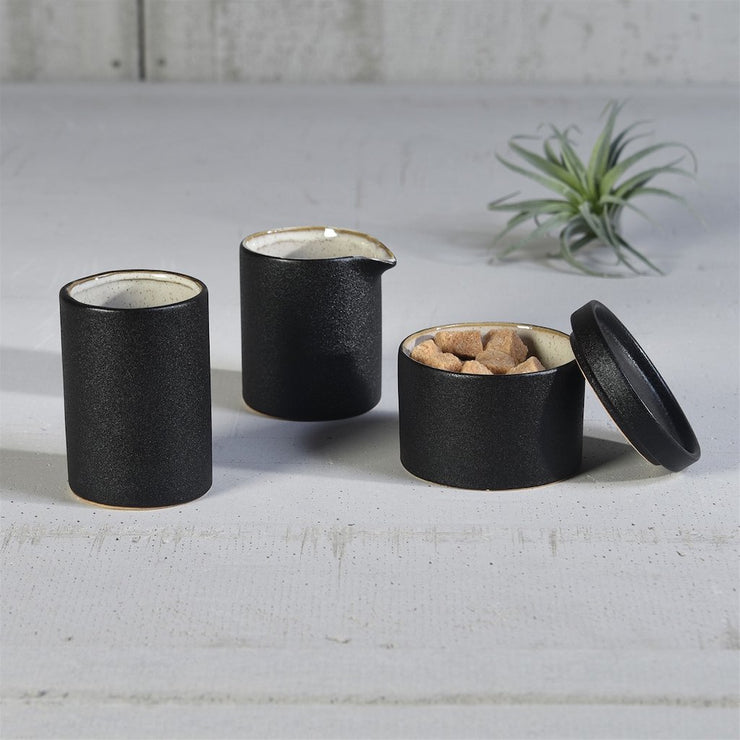 Dominic Cup - Ceramic Black (set of 6) - Molecule Design-Online