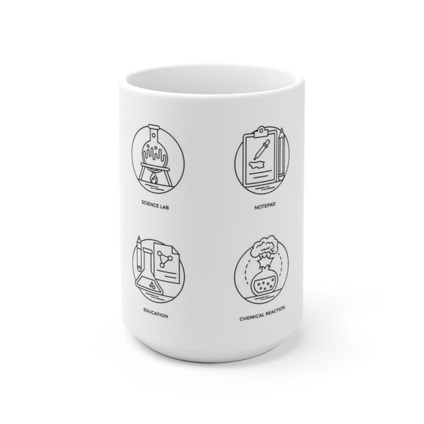 Science Pictograms Mug - Molecule Design-Online
