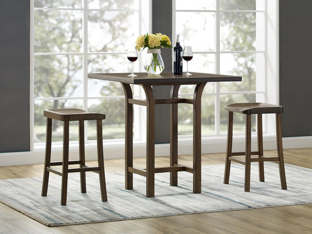 Tulip Counter & Bar Stool (set of two) - Molecule Design-Online