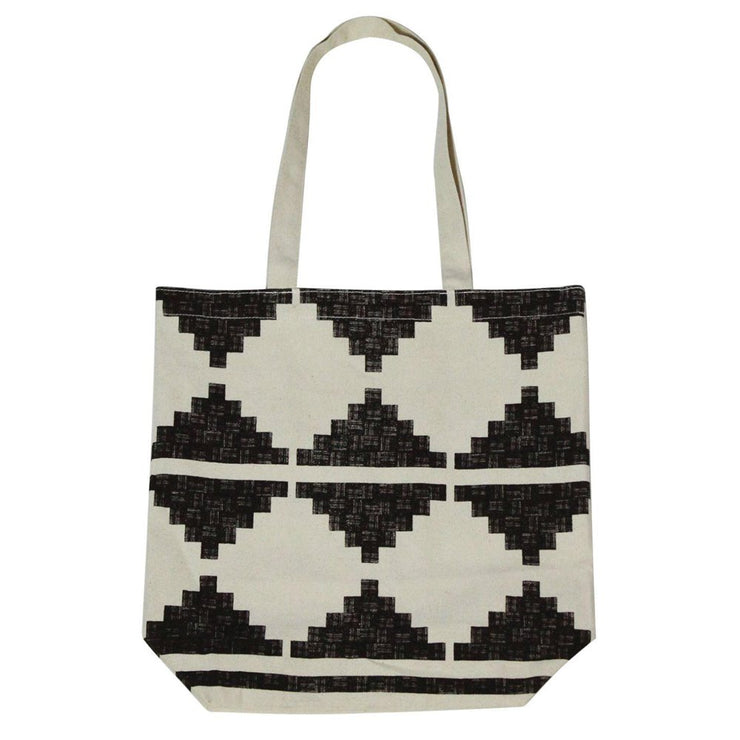 Mimbres Canvas Tote Bag, [Molecule Design]