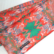 Men's Coat Scarves/Unisex - Satin Polyester, [Molecule Design]