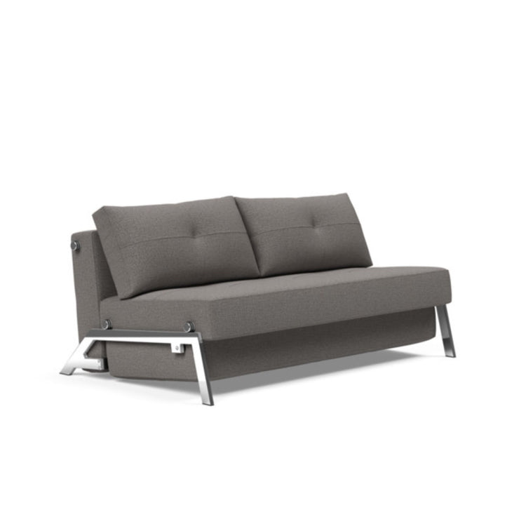 Cubed 02 Deluxe Sofa, Chrome Legs (Full / Chrome) - Molecule Design-Online