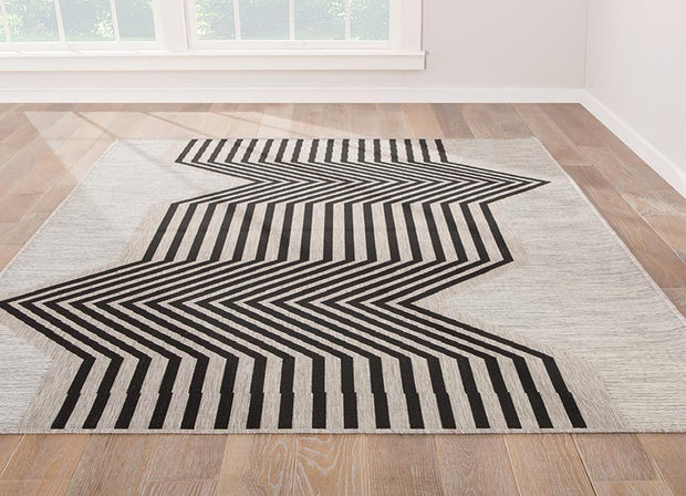 Decora - Outdoor/Indoor Rug, [Molecule Design]
