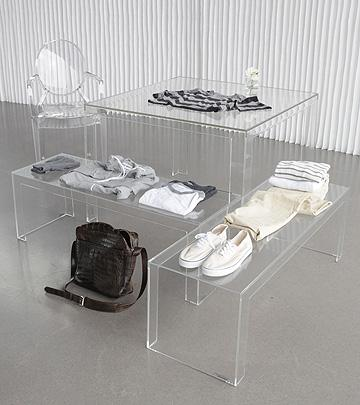 Invisible Side Table, [Molecule Design]