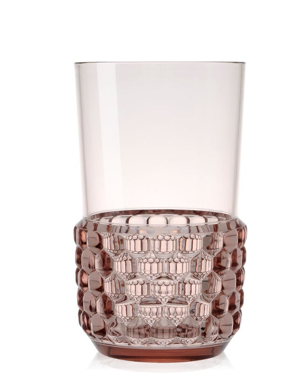 Jellies Collection - Family Glass - Pink - Set of Four - Molecule Design-Online
