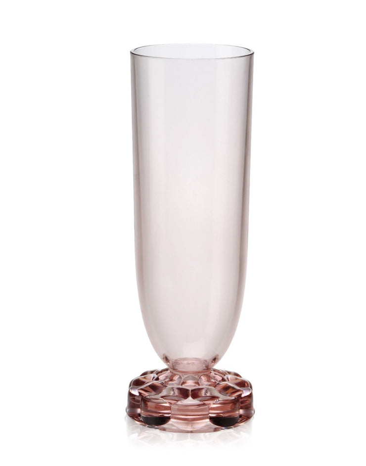 Jellies Collection - Champagne Flutes - Pink - Set of Four - Molecule Design-Online