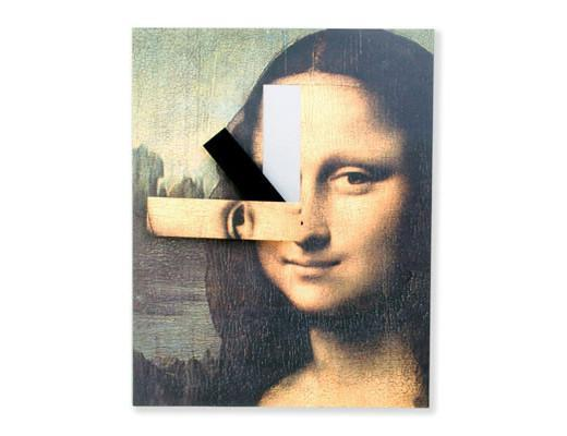 Mona Lisa Wall Clock, Accessories - Molecule Design - www.molecule-design-online.com