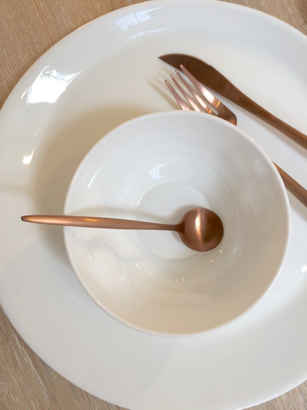 Lisboa Flatware - Rose Gold - Set of 4, [Molecule Design]