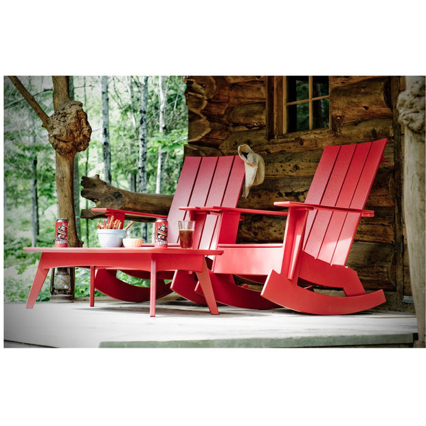 Adirondack Rocking Chair (Flat), [Molecule Design]