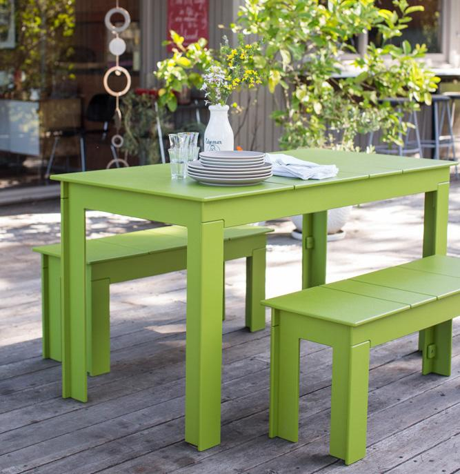 "Lollygagger Picnic Table 56"", [Molecule Design]"