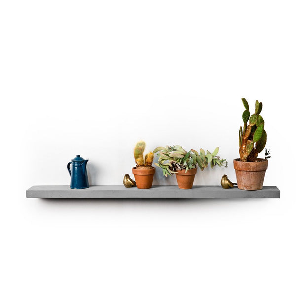 Sliced Concrete Shelf, [Molecule Design]