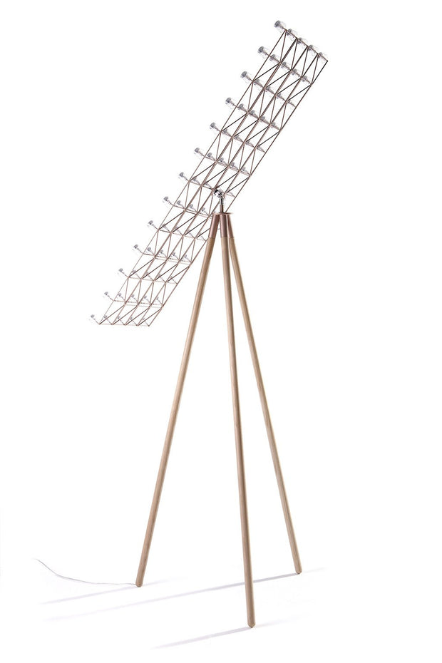 Space-Frame Floor Lamp, [Molecule Design]