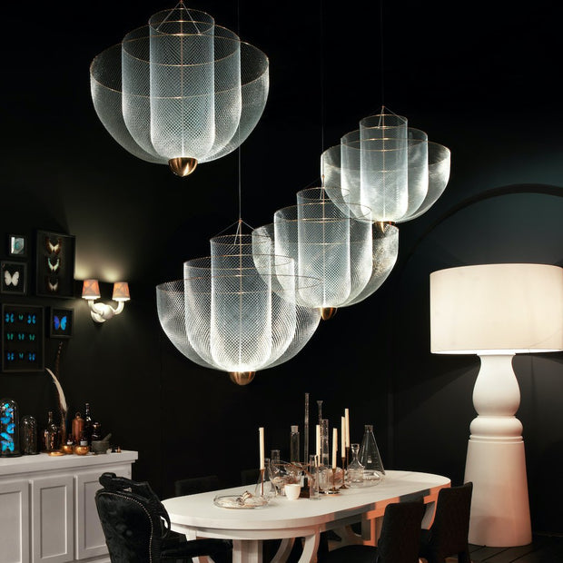 Meshmatics Small Chandelier - Molecule Design-Online