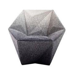 Gemma Small Armchair, Seating - Molecule Design