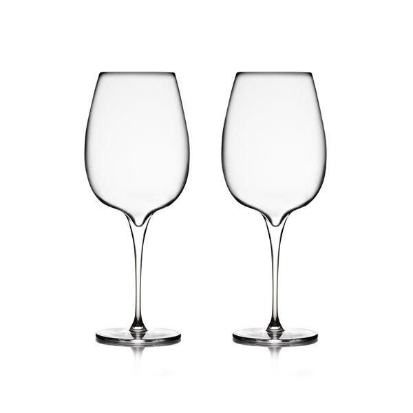 Vie Cabernet Glasses (Set of 2), [Molecule Design]