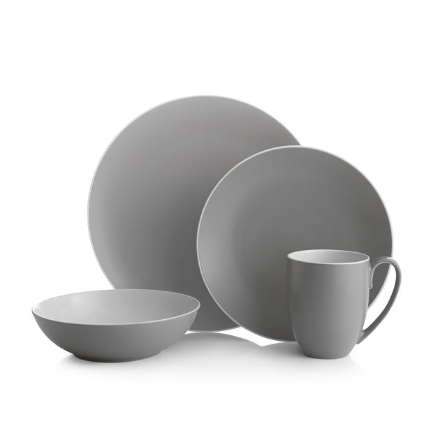 POP 4-Piece Place Setting, [Molecule Design]