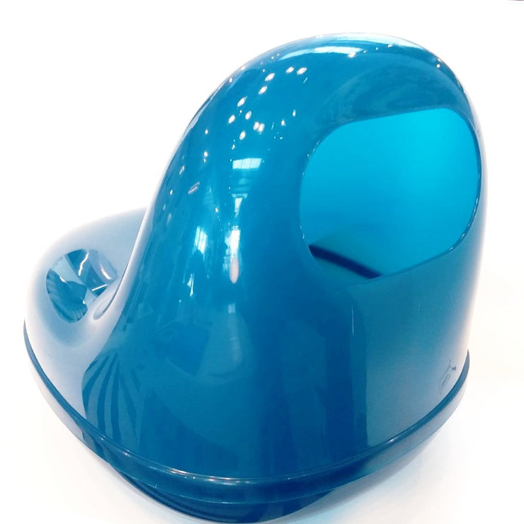 Capsule Chair Blue, [Molecule Design]
