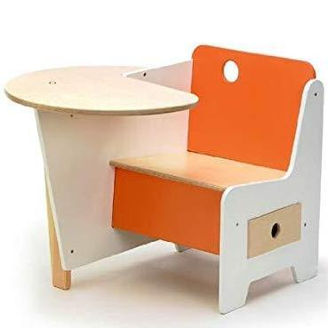 Mini Drawer Doodle Desk Orange - Molecule Design-Online