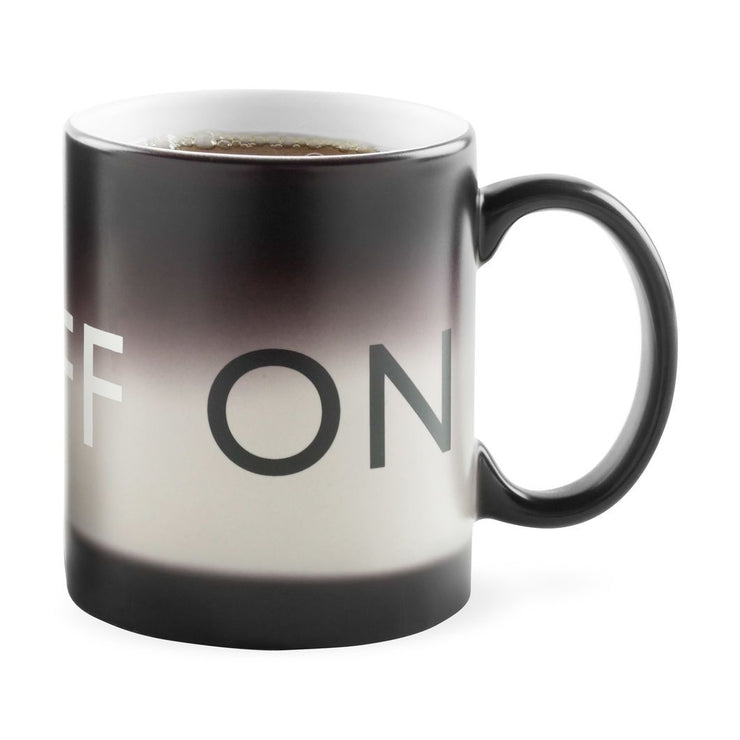 On/Off Mug, [Molecule Design]