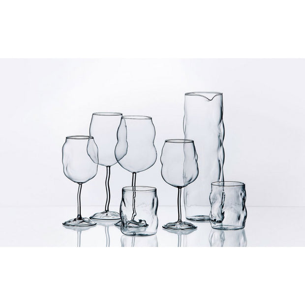"Glass from Sonny - Wine Glass 9.5"" (set of 4) - Molecule Design-Online"