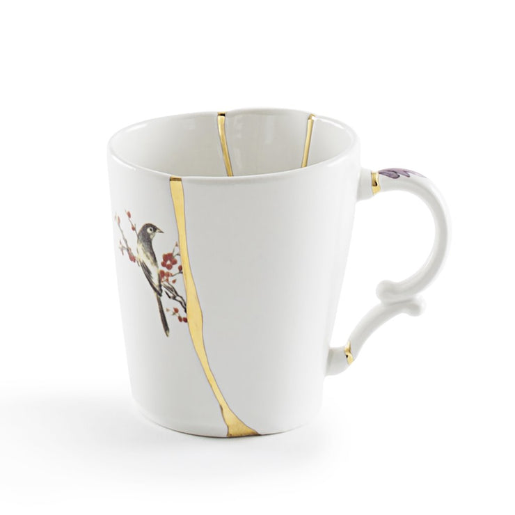 Kintsugi Coffee Mug, [Molecule Design]