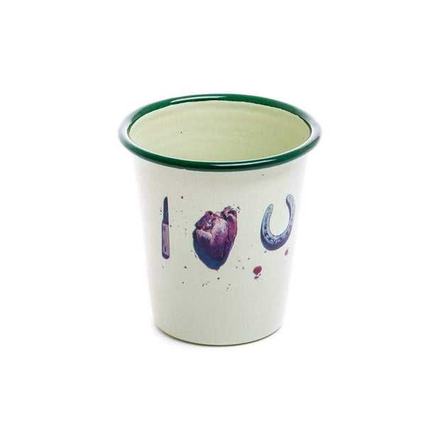 Toiletpaper - Enamel Glasses (set of 6) - Molecule Design-Online