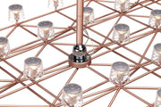 Space-Frame Suspended Lamp, [Molecule Design]