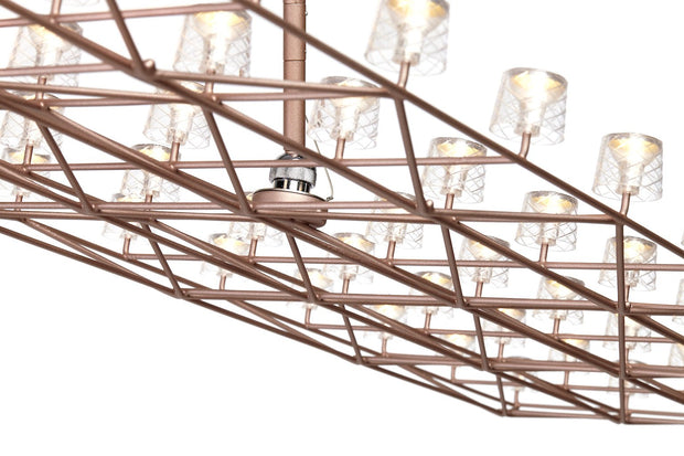 Space-Frame Suspended Lamp