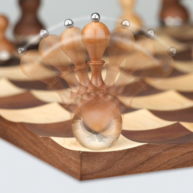 Wobble Chess Set, [Molecule Design]