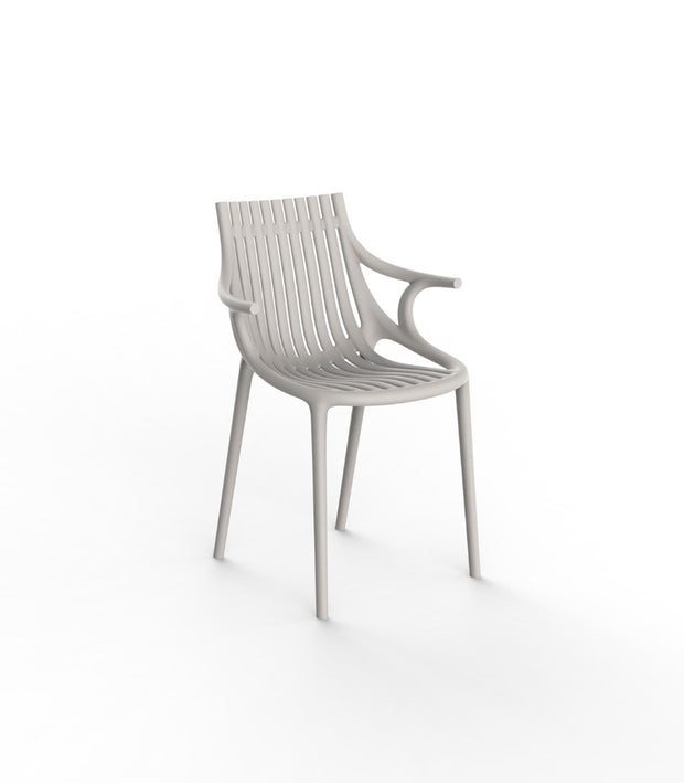 Vondom Revolution - Ibiza Chair with Arms (Set of Four) - Molecule Design-Online